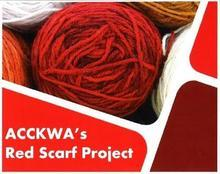 ACCKWA red scarf project