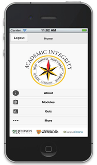 IntergrityMatters mobile phone app