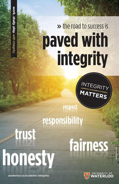Paved with Integrity