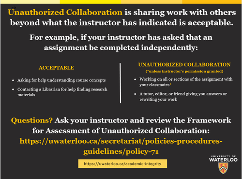 Unauthroized Collaboration