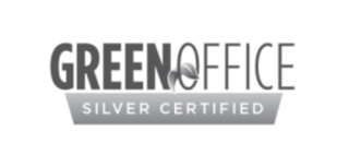 Green Office silver certified logo