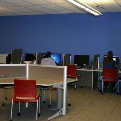 Photo of the student lab