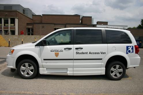 photo of student access van