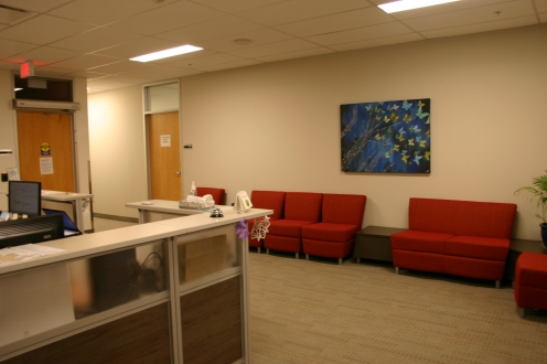 Photo of reception area