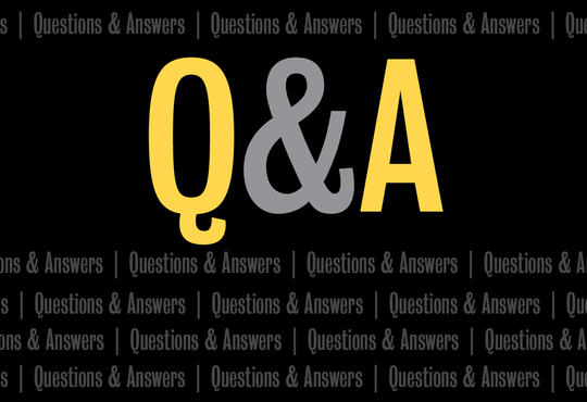 Question and Answer banner