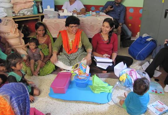 Barakat Bundle in a classroom