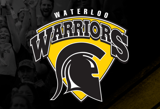 Warriors logo banner