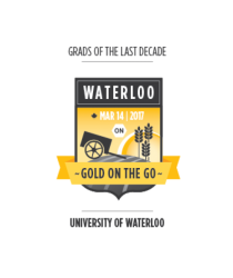 Logo for Waterloo event