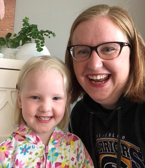 UWaterloo alumna and her daughter