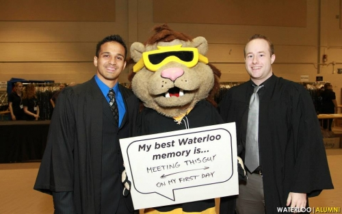 ammar with king warrior at convocation