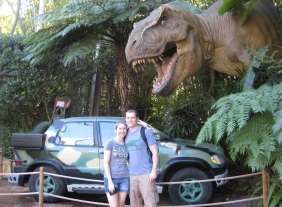 dana and husband at park