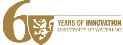 UWaterloo 60th logo
