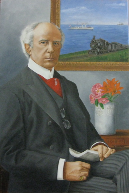 Portrait of Wilfrid Laurier