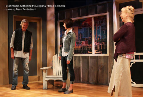 Actors in a Norm Foster play