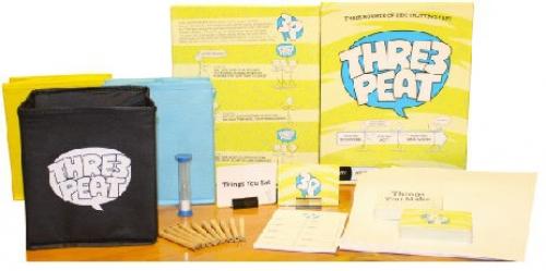 Thre3peat board game