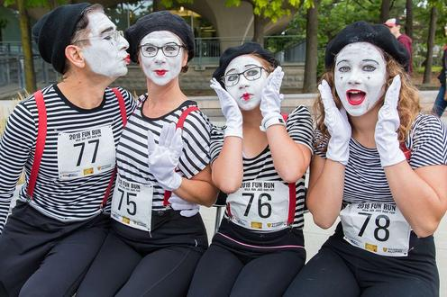Family of mimes