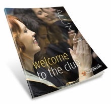 "Cover of handbook called ""welcome to the club"""