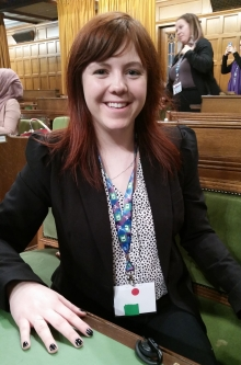 Emma at the House of Commons