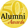 50th Alumni awards logo