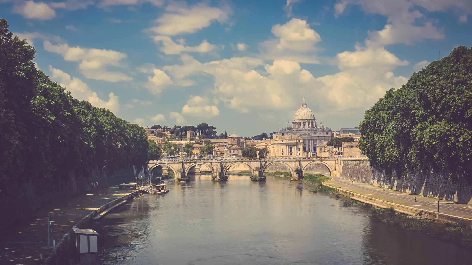 Rome landscape photo