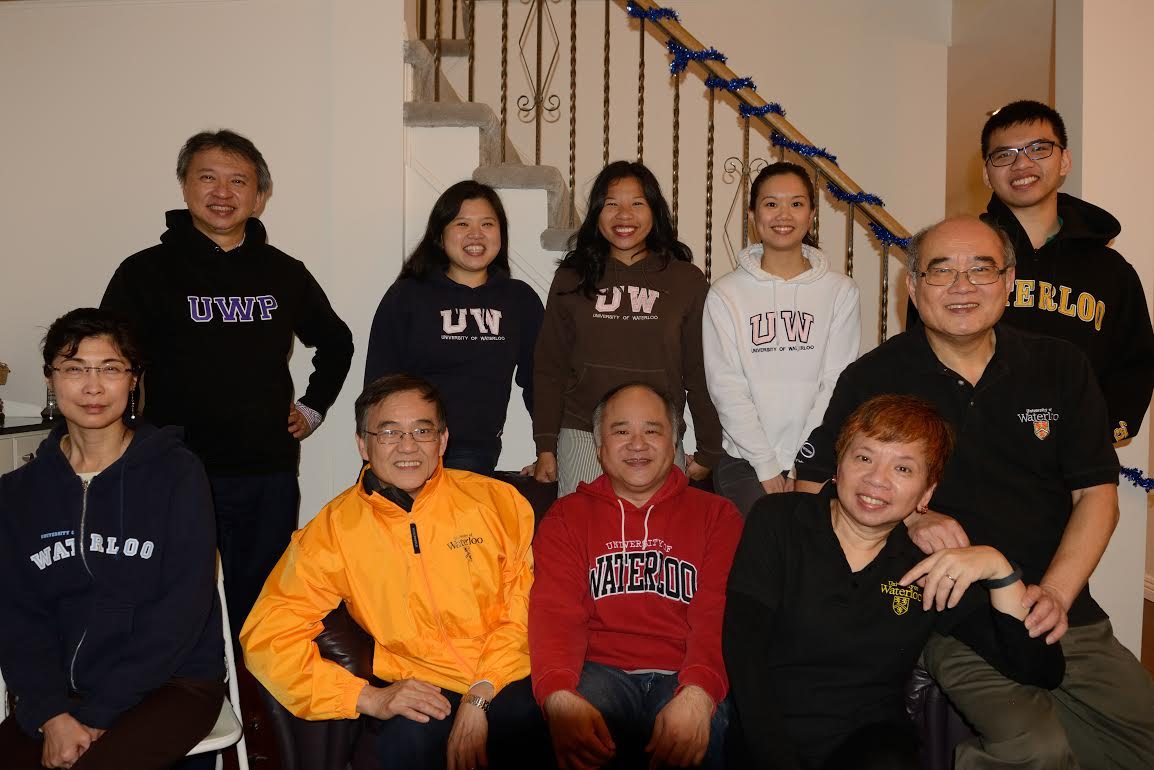 Cynthia Cheng and family
