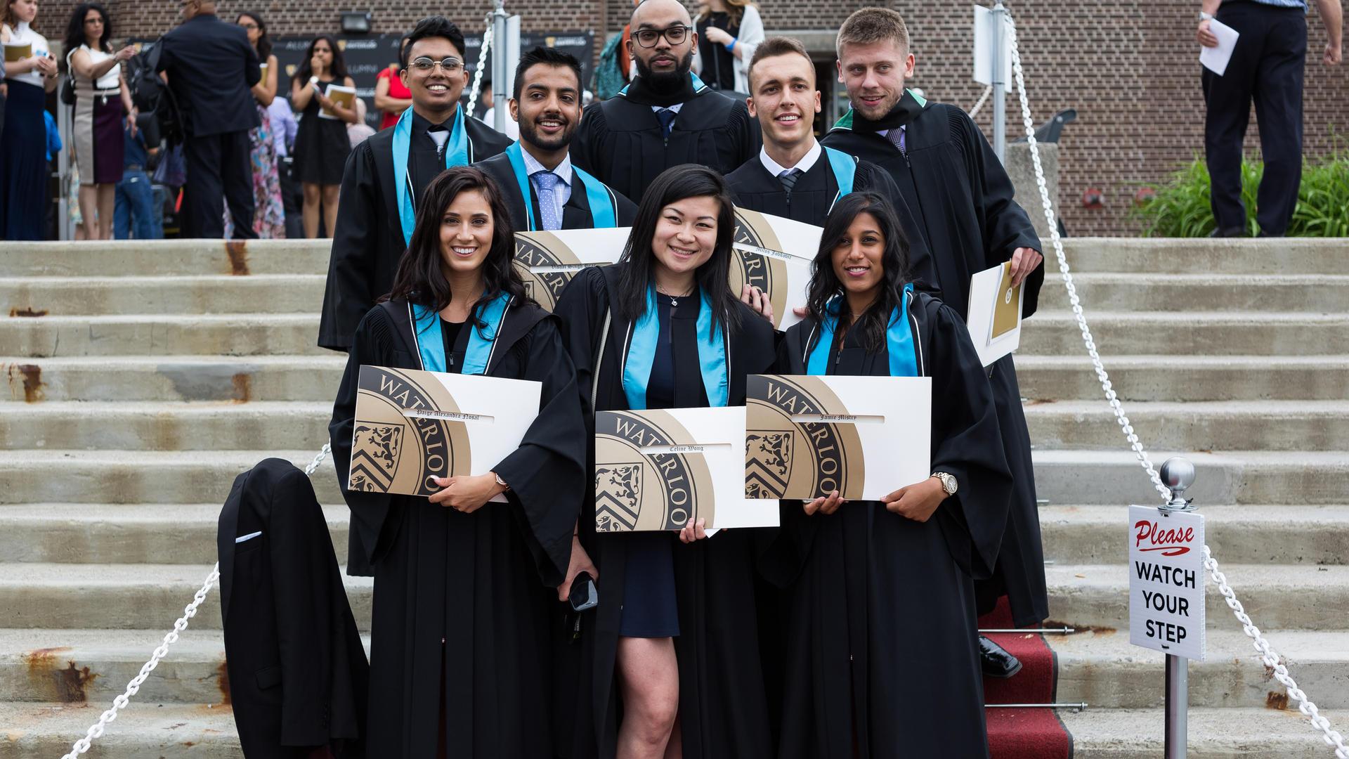 Groupof new alumni