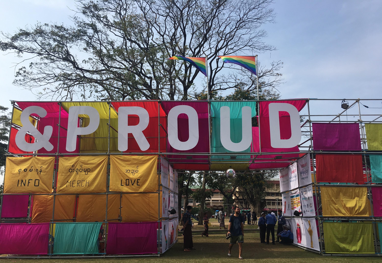 Pride Festival in Myanmar