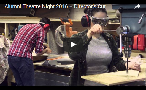 Alumni theatre night video screenshot