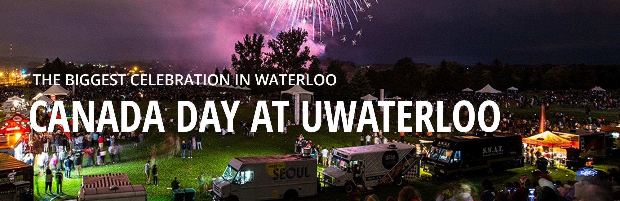 Canada Day celebration at UWaterloo.