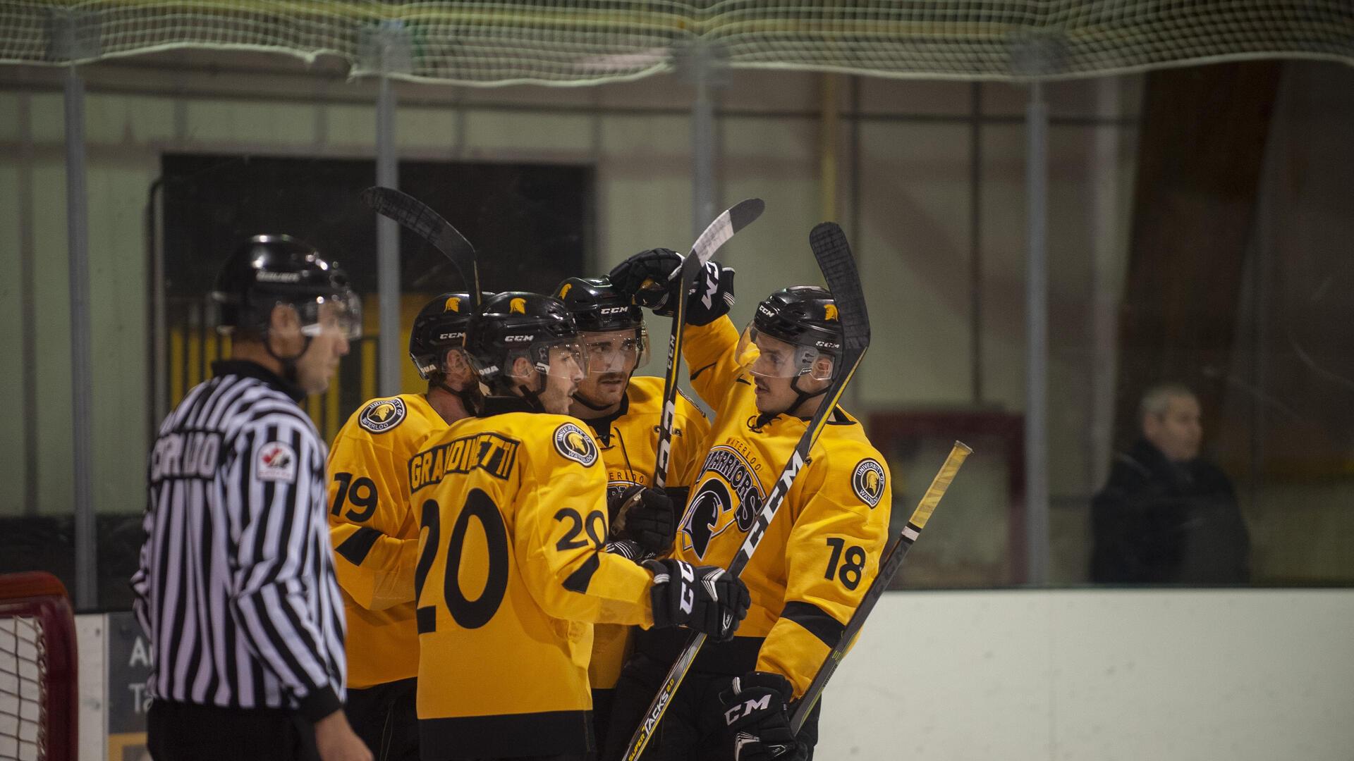 Waterloo Men's Ice Hockey Players