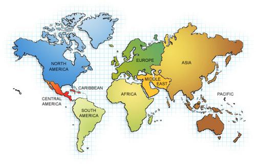 Alumni World Map Alumni University of Waterloo