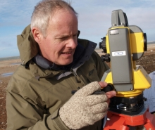 Bob Park conducts research in high arctic