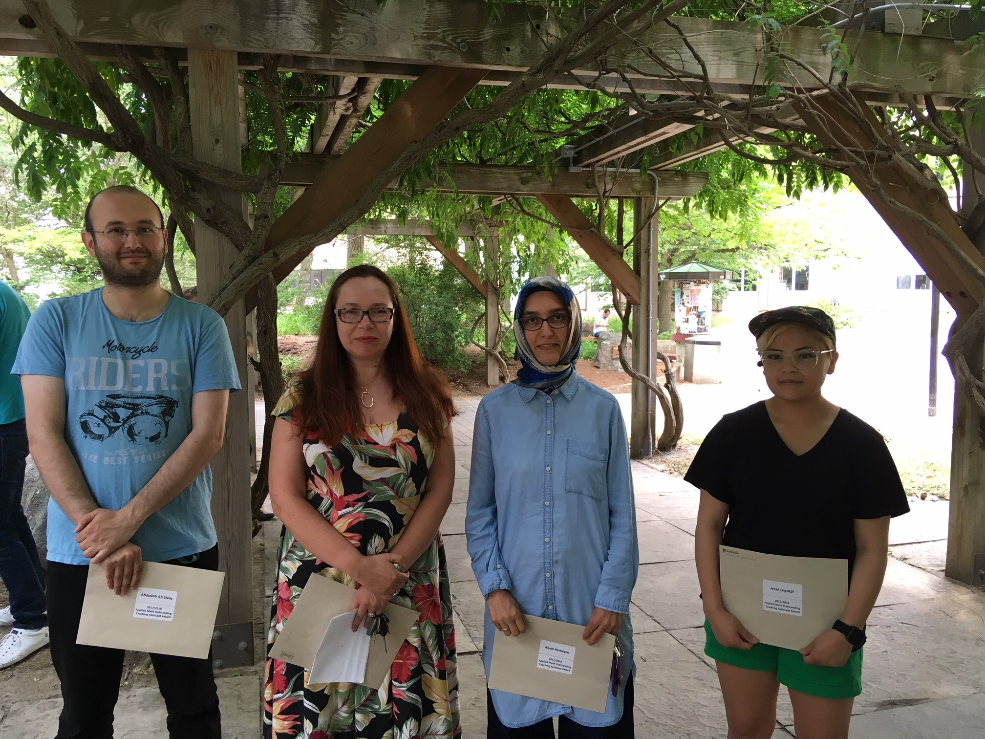 Graduate Students Win Outstanding Teaching Assistant Awards