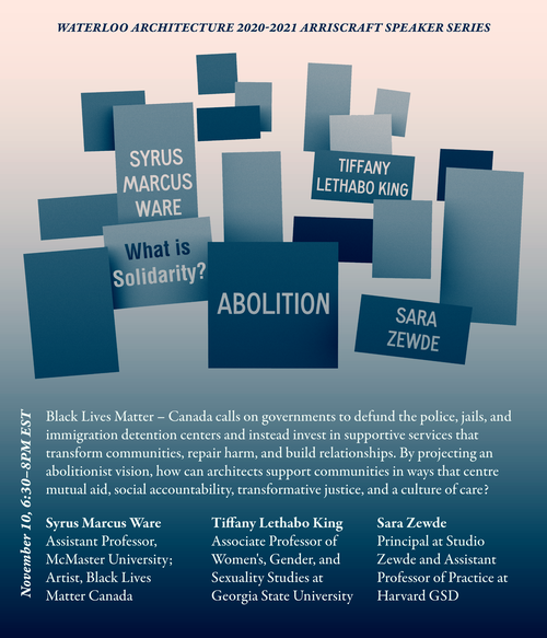 Abolition promotional poster