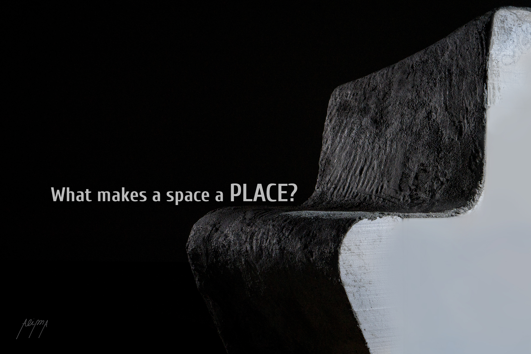 What Makes a space a place postcard front
