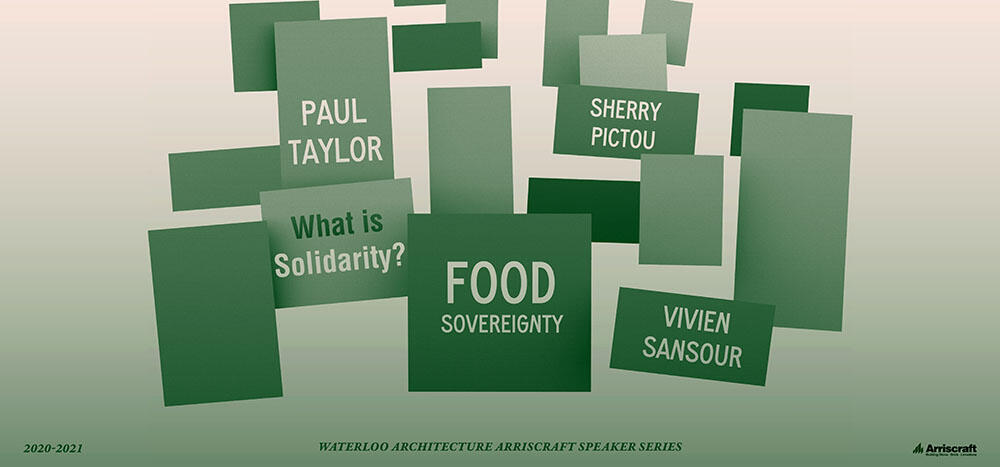 Food Sovereignty promotional poster
