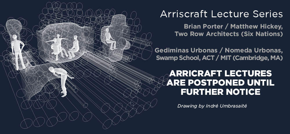 Arriscraft Lecture Series Canceled - Digital Drawing by Indré Umbrasaité