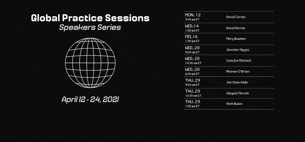 global practice promotional poster
