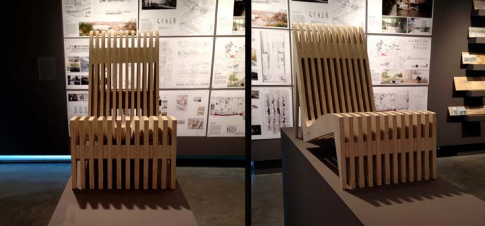image of a chair at Projects Review 2015
