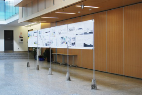 image of student work in Cambridge City Hall