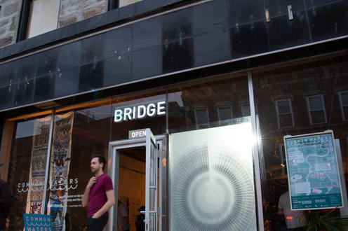 Front Exterior view of Bridge Centre for Architecture and design