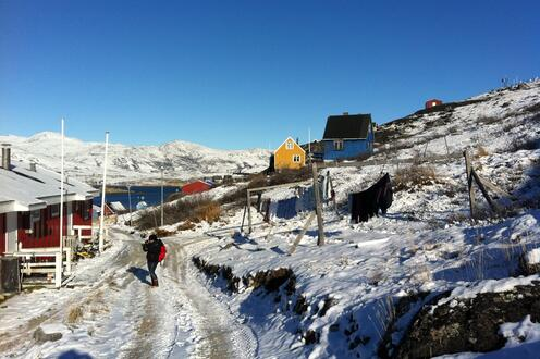 Option Studio looking at Education in Greenland, 2012