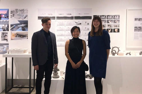 Aidan Mitchelmore, Eveline Lam and Kathryn Holbrook-Smith