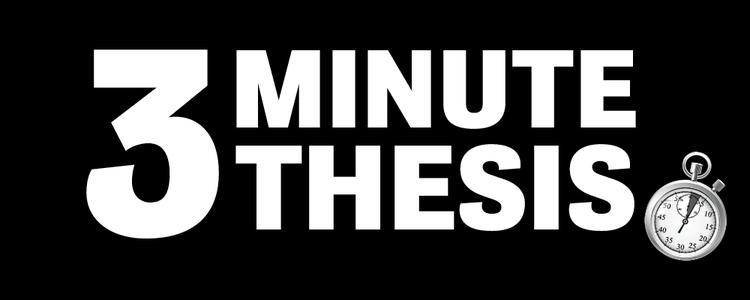 3 Minute Thesis Banner Image