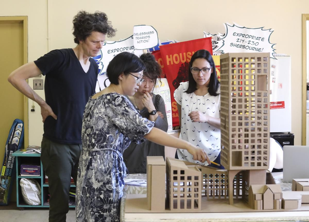 Architects, advocates team up on affordable tower to slow 'avalanche of condominiums'