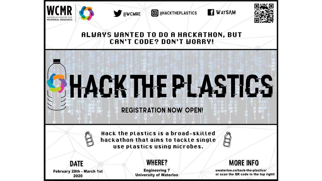 Hack the Plastics poster
