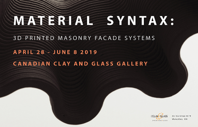 Material Syntax: 3D Printed Clay
