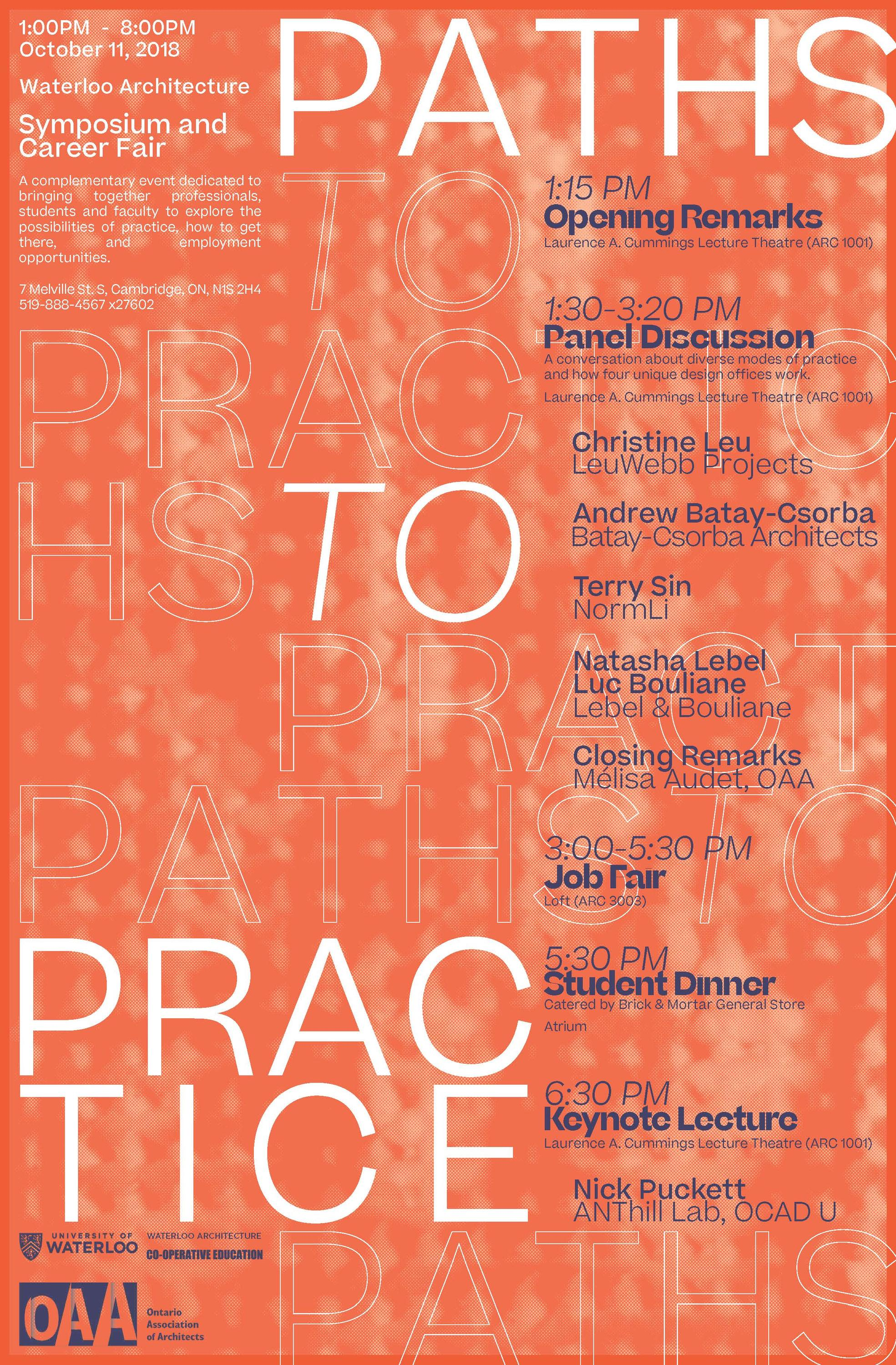 Paths to Practice poster