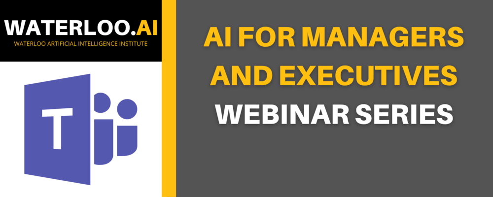Image of AI for Managers and Executives - Webinar Series