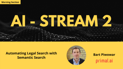Topic - Automating Legal Search with Semantic Search